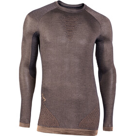 UYN Cashmere Silky UW LS Roundneck Shirt Men celebrity gold